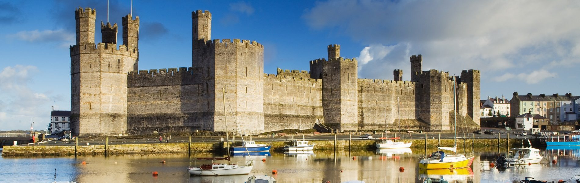 Tours of North Wales - Caernarfon Castle