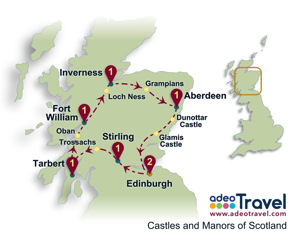 Car Rental Scotland Automatic Transmission