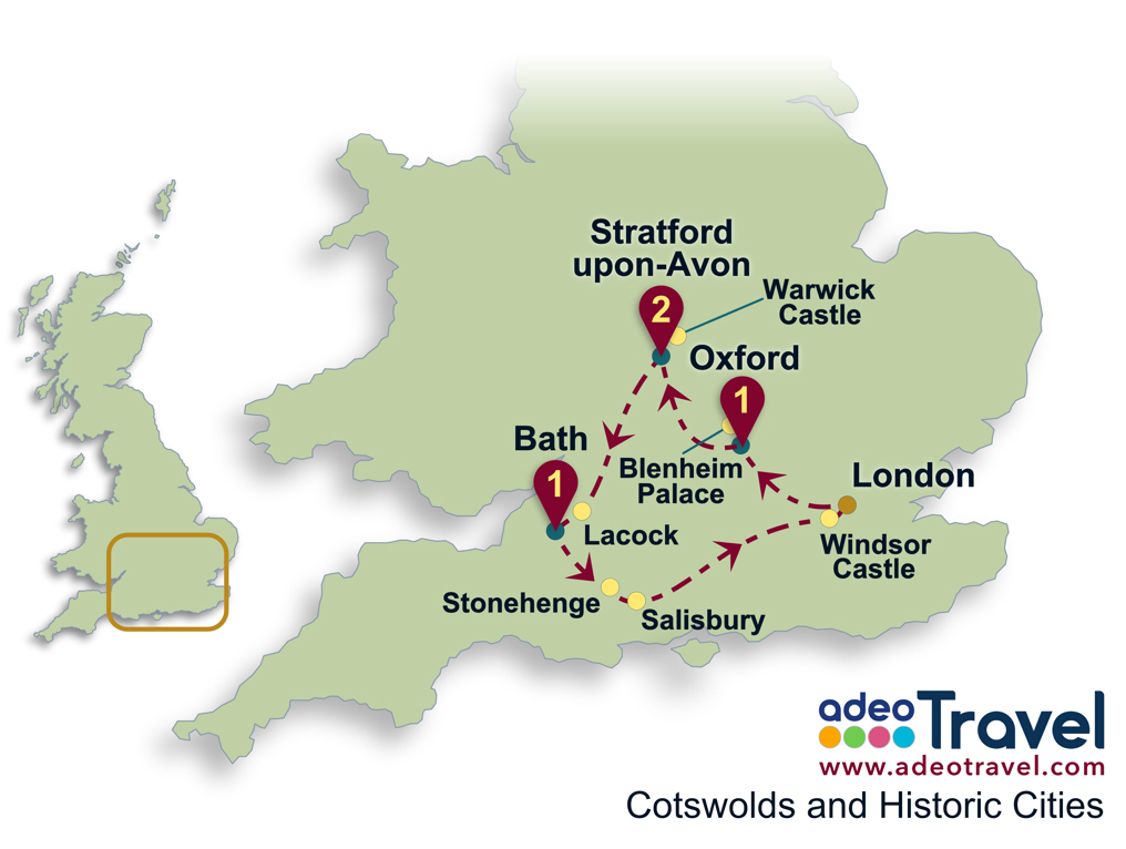 Cotswolds Driving Tour From London