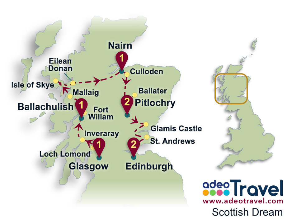 Scottish Dream | adeo Travel: tailor-made tours of England, Scotland ...