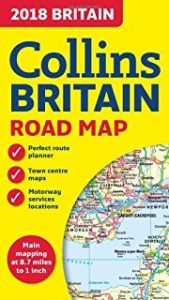 Britain Road Map - Driving Tour of Britain