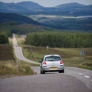 Driving Tour of Scotland