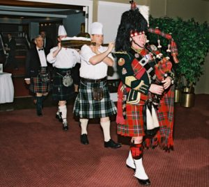 Piping of the Haggis