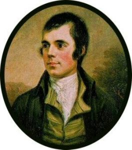 Blog - Robert Rabbie Burns, Scottish poet
