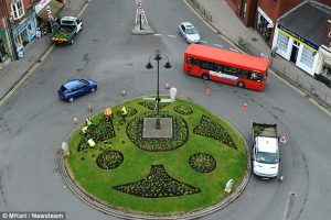 An English Roundabout - Driving tour of England
