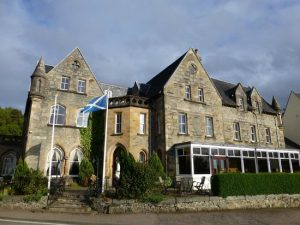 Tours of Scotland, Ballachulish Hotel - Fort William