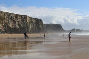 Watergate Bay, Cornwall Driving Tour