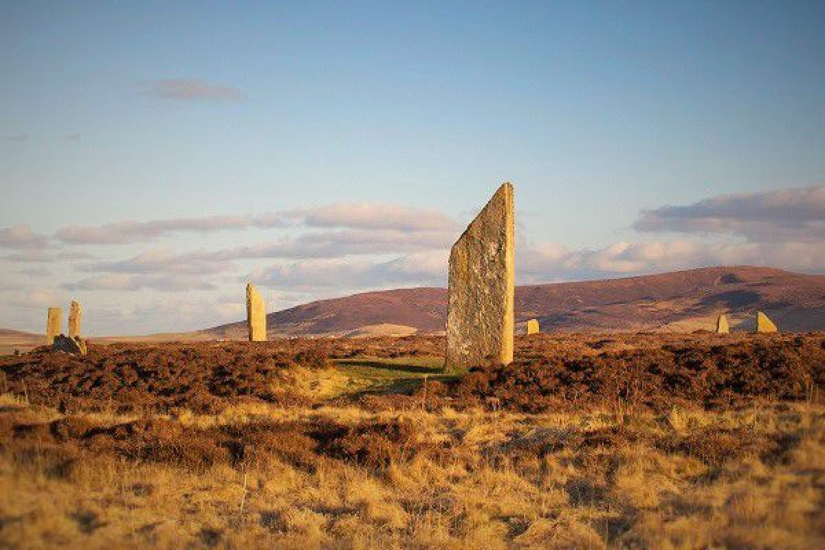 N Scotland Ring of Brodgar Orkney