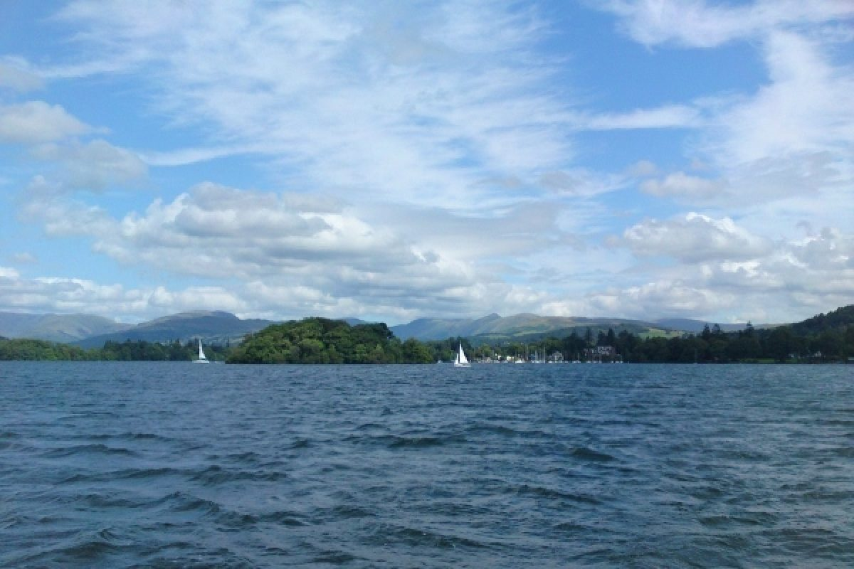 Lake Windermere, Lake District, England