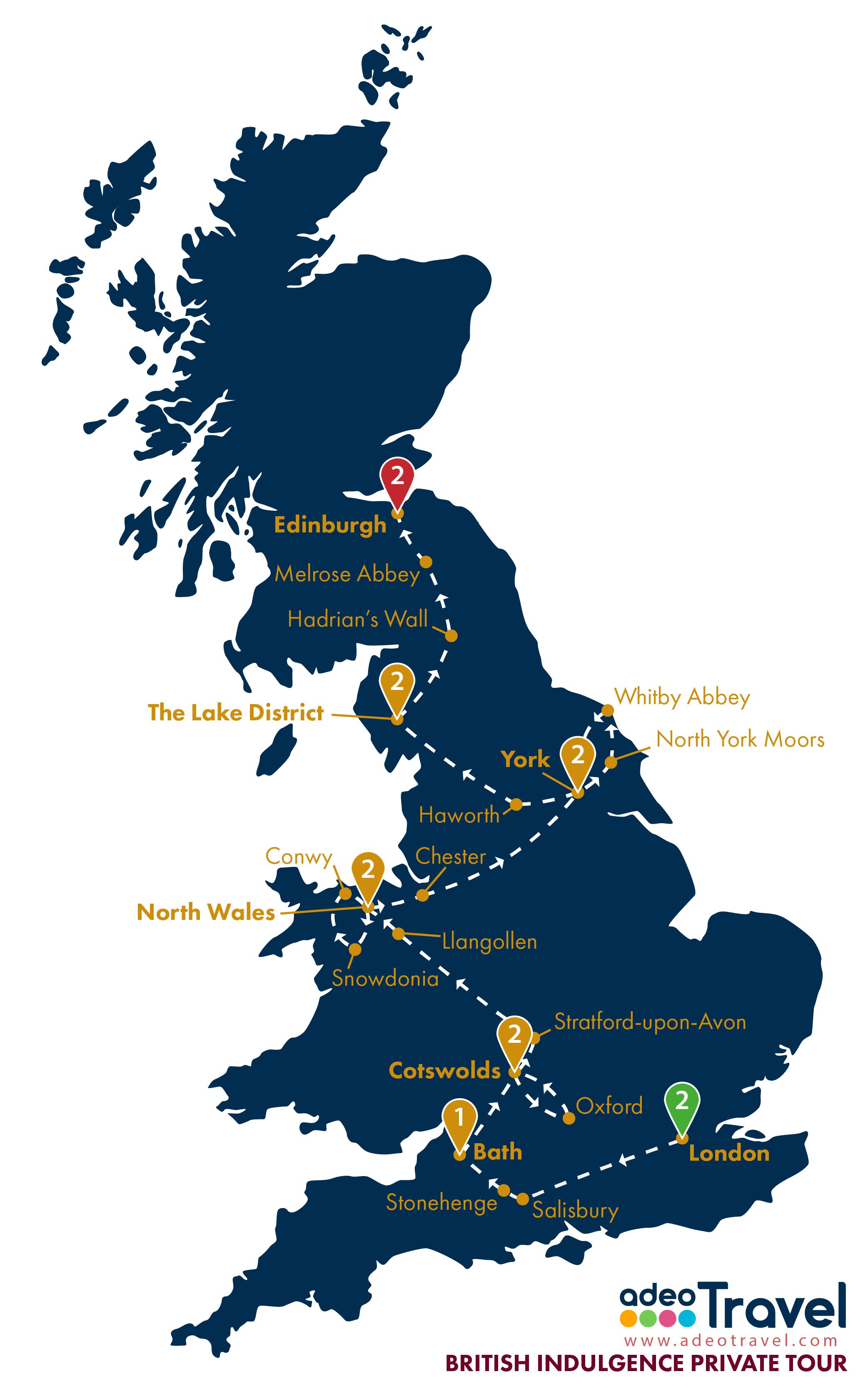 Map - British Indulgence