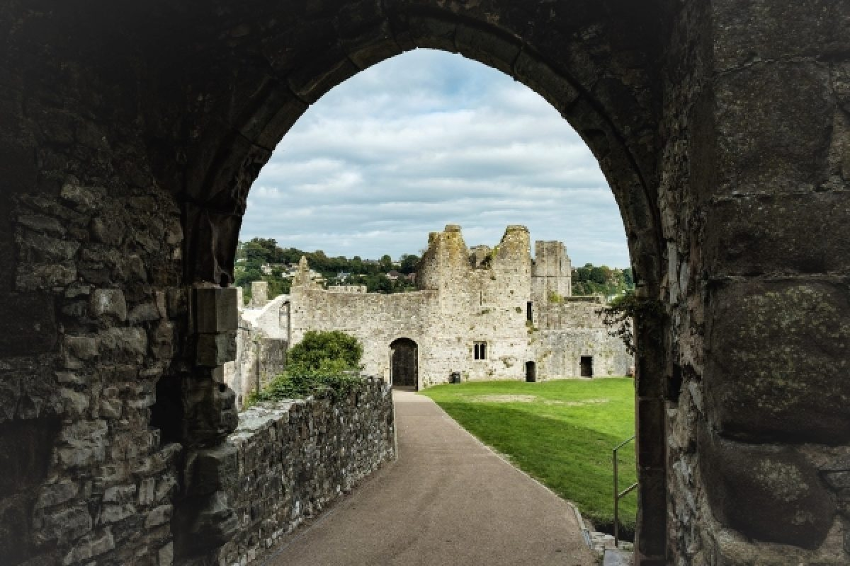 Chepstow Castle, Monmouthshire, Wales