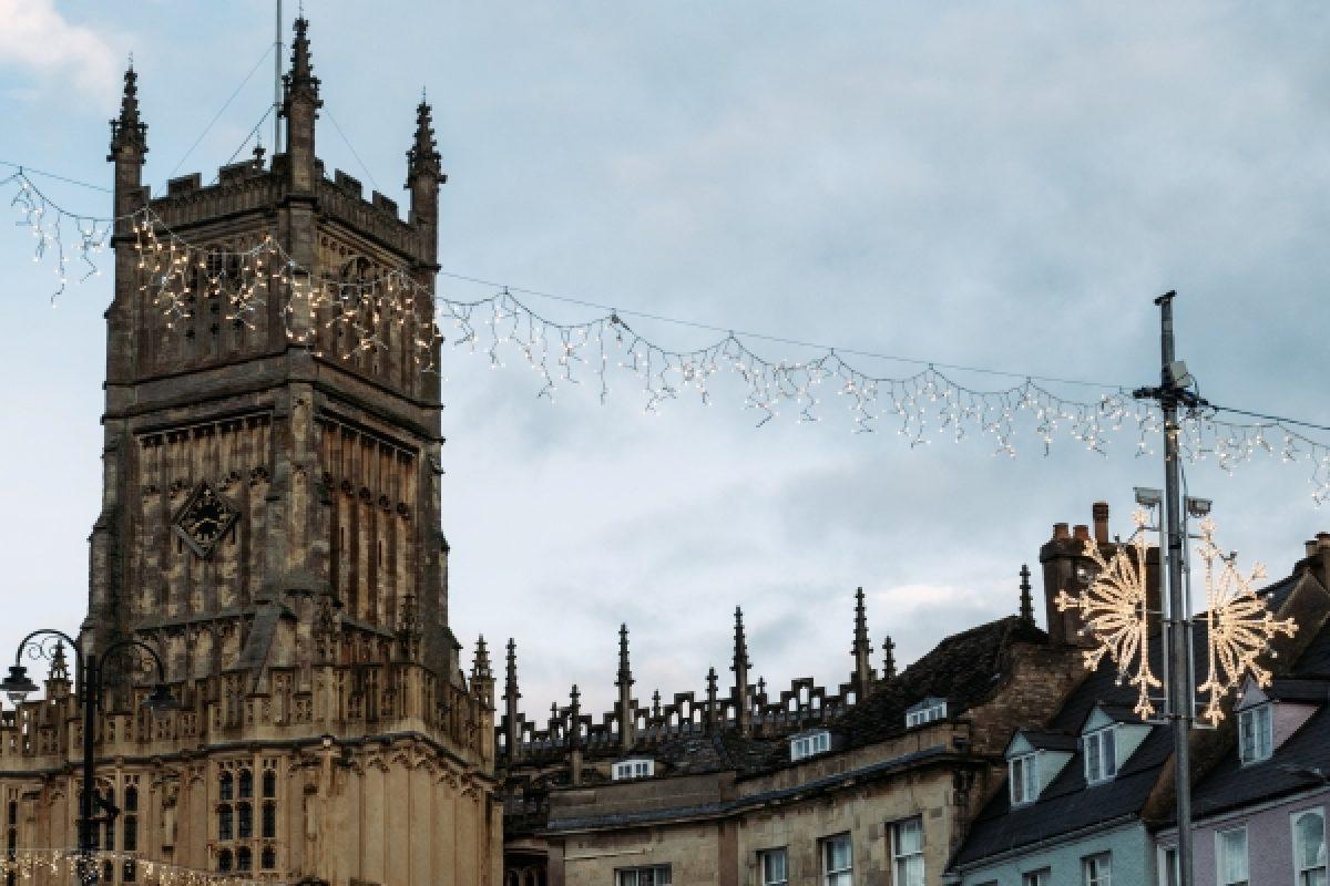 Christmas in Cirencester, England