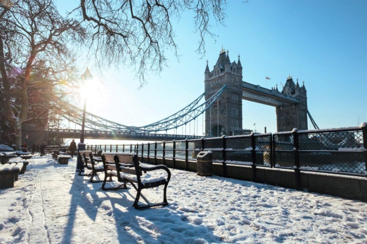 Winter in London, Tower Bridge