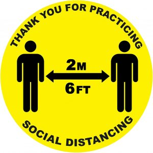 Social Distancing Tourism UK
