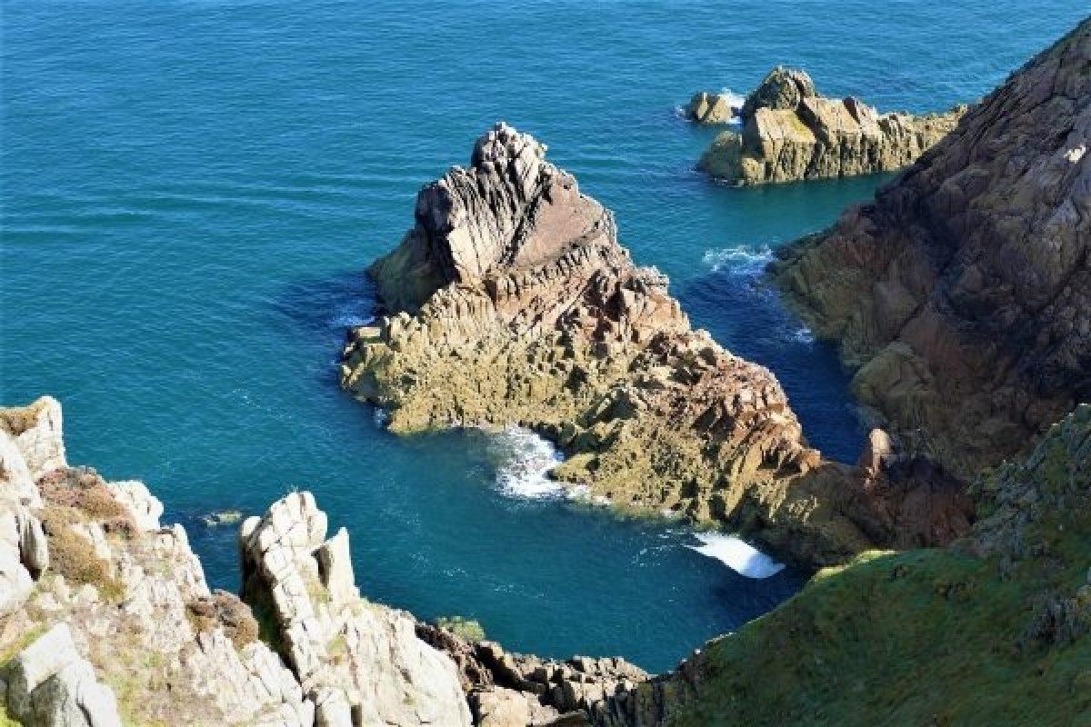 Channel Islands coast, England