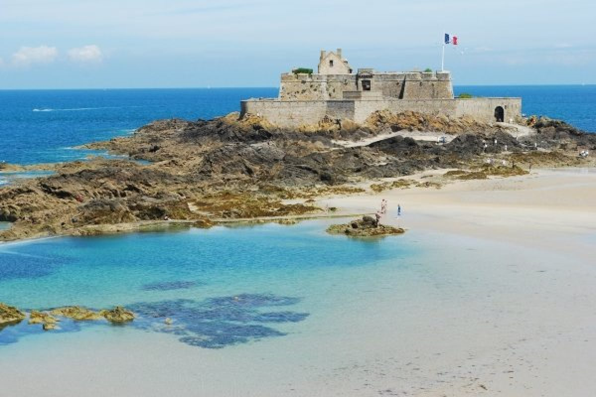 Fort National, Saint-Malo, Brittany, France