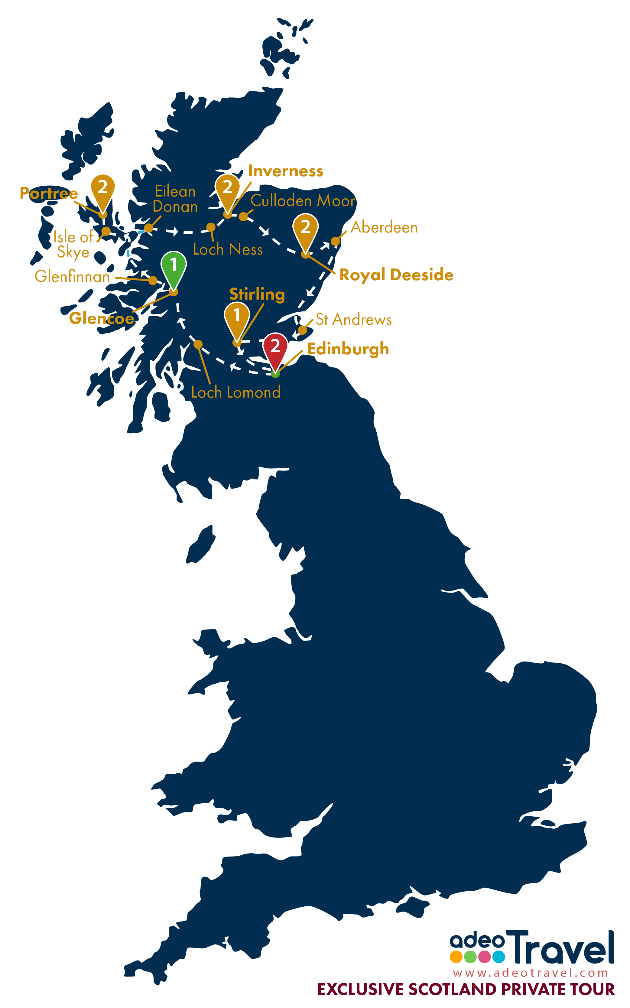 Map - Exclusive Scotland