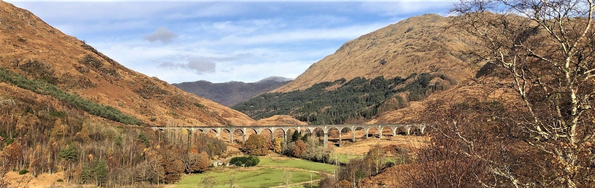 Glenfinnan Viaduct cover, Highlands, Scotland