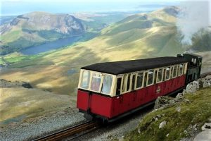 Snowdonia mountain railway, North Wales