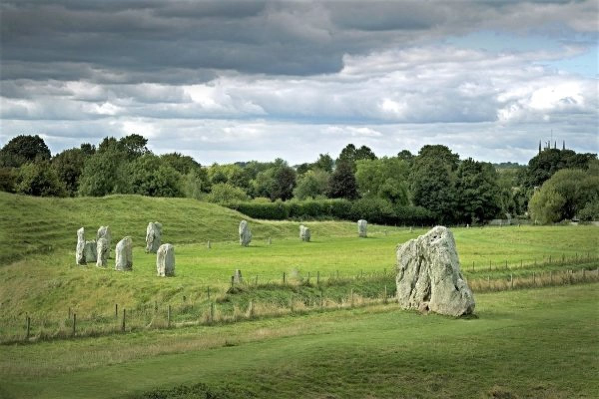 Avebury stone circle, Marlborough, England