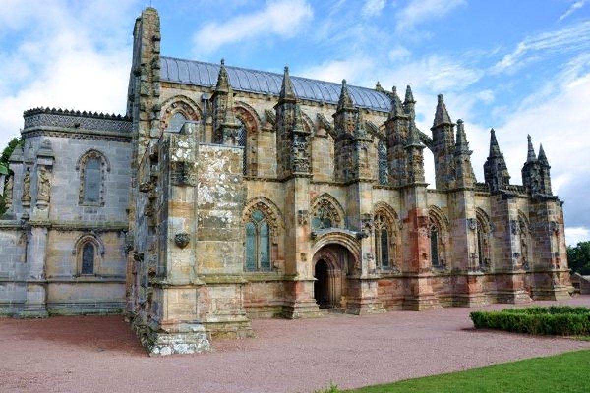 Rosslyn Chapel, Edinburgh, Scotland